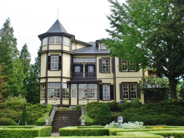山手西洋館のひとつ「外交官の家」