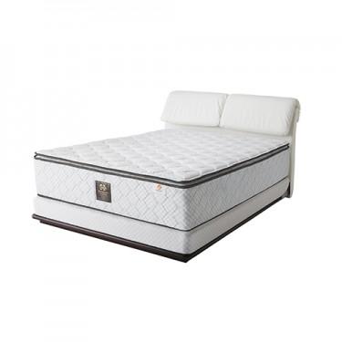 シーリーのベッドフレーム「ブロンクスⅡ」ダブルクッションタイプです