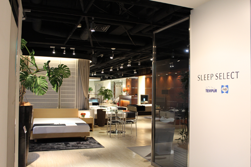 SLEEPSELECT AOYAMA店の画像です。