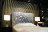 SLEEPSELECT × 千總 コラボ企画。 友禅染の老舗である千總の高品質な職人技が用いられた高級ヘッドボードです。